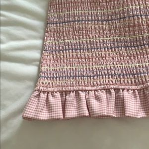 Storia Dresses - Pink Ruched Mini Dress